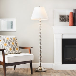 Endless Sphere Off White Shade Floor Lamp