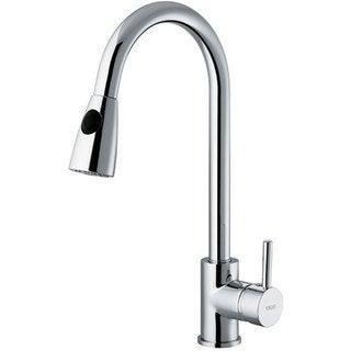 VIGO Chrome Pull-Out Spray Kitchen Faucet