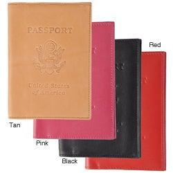 Boston Traveler Genuine Leather Passport Cover