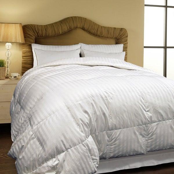 Hotel Grand Oversized 500 Thread Count All-season Siberian White Down Comforter