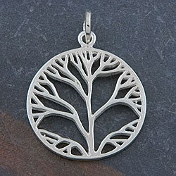 Sterling Silver 'Tree of Life' Pendant (Thailand)