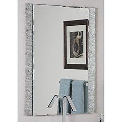 Frameless Molten Wall Mirror