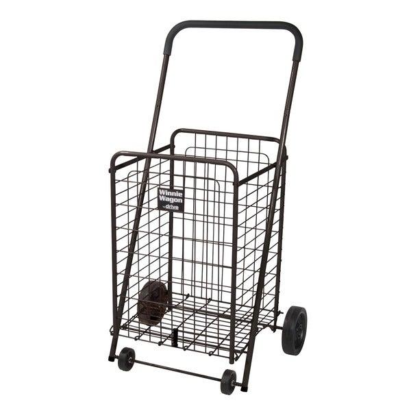 Black Winnie Wagon All Purpose Shopping Utility Cart