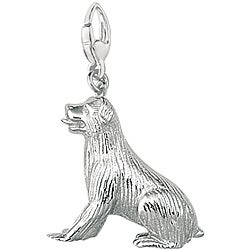 Sterling Silver Large Rottweiler Charm