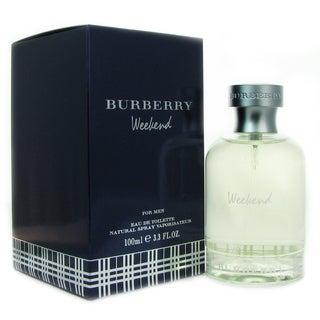 Weekend by Burberry Men's 3.4-ounce Eau de Toilette Spray