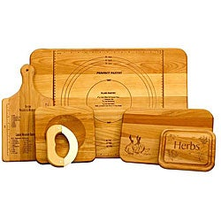 Unlitame Chef's 5-piece Cutting Board Set