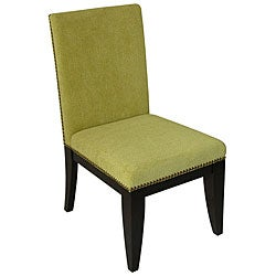 Montgomery Polyester-Upholstered Dining Chair (Set of Two)