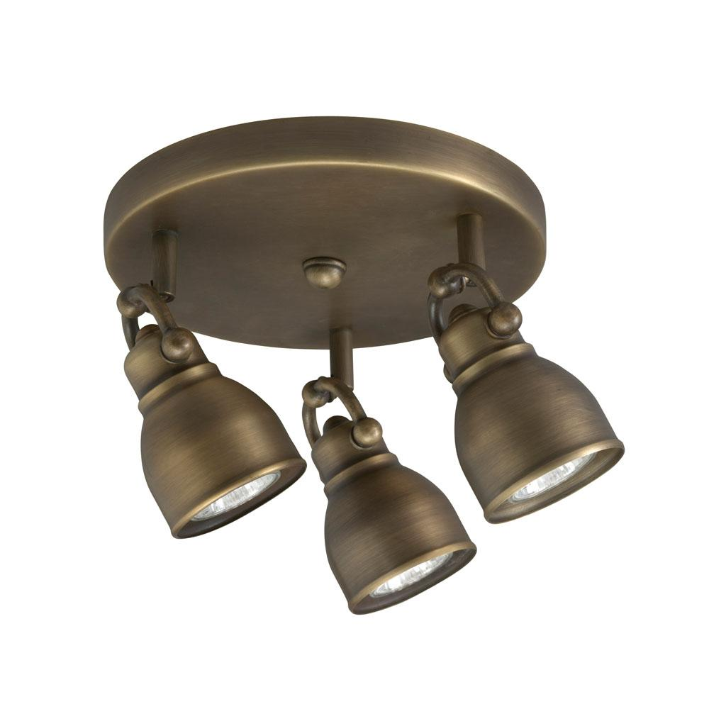 bronze 3 light flush mount light fixture overstock