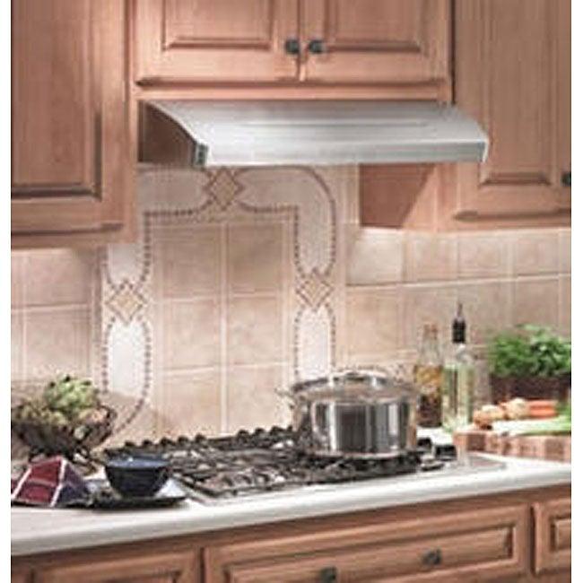 Broan 36-inch Stainless Steel Under-cabinet Range Hood
