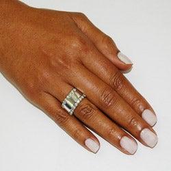 14k White Gold 1 1/2ct TDW Diamond Anniversary Ring (H-I, I1-I2)