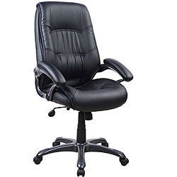 Deluxe Executive Five-star Ergonomic Black Chair