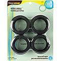 Matte Black Curtain Grommets (Pack of 8)