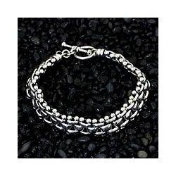 Sterling Silver 'Freedom' Bracelet (Indonesia)