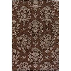 "Hand-Tufted Mandara Contemporary Wool Area Rug (7'9"" x 10'6"")"