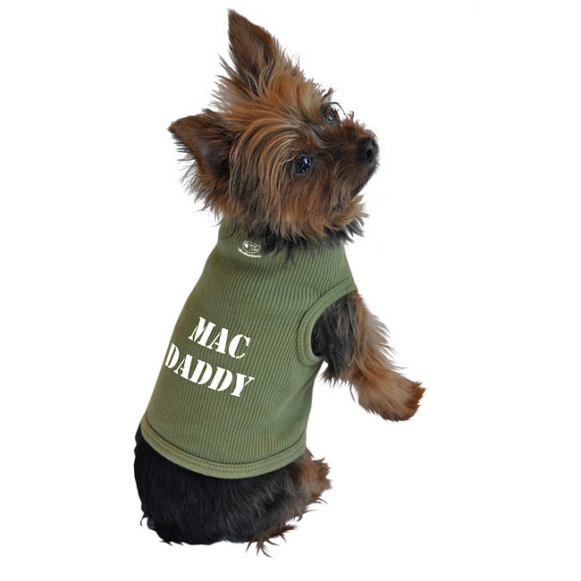 Mac Daddy Dog Tank Top - Overstock Shopping - The Best Prices on Ruff ...