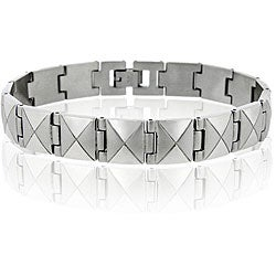 Mondevio Stainless Steel X-design Bracelet