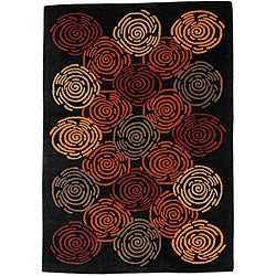 Hand-tufted Nouri Wool Rug (8' x 10'6)