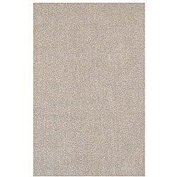 Hand-tufted Hard Twist Camel Wool Rug (8' x 10'6)