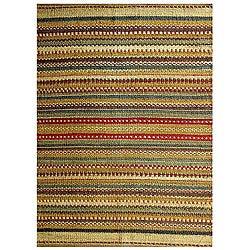 Hand-woven Mohwak Jute Rug (8' x 10'6)