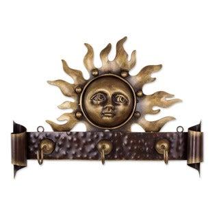 Iron 'Curious Sun' Coat Rack (Mexico)