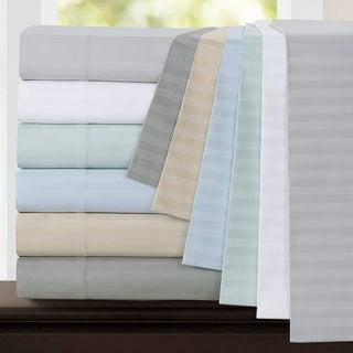 Egyptian Cotton 800 Thread Count Deep Pocket Stripe Sheet Set