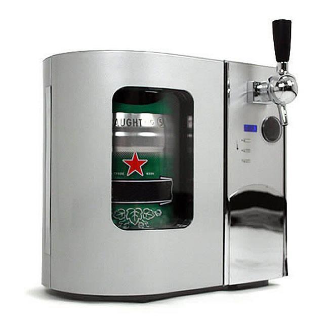 EdgeStar TBC50S Deluxe Mini Kegerator and Draft Beer Dispenser