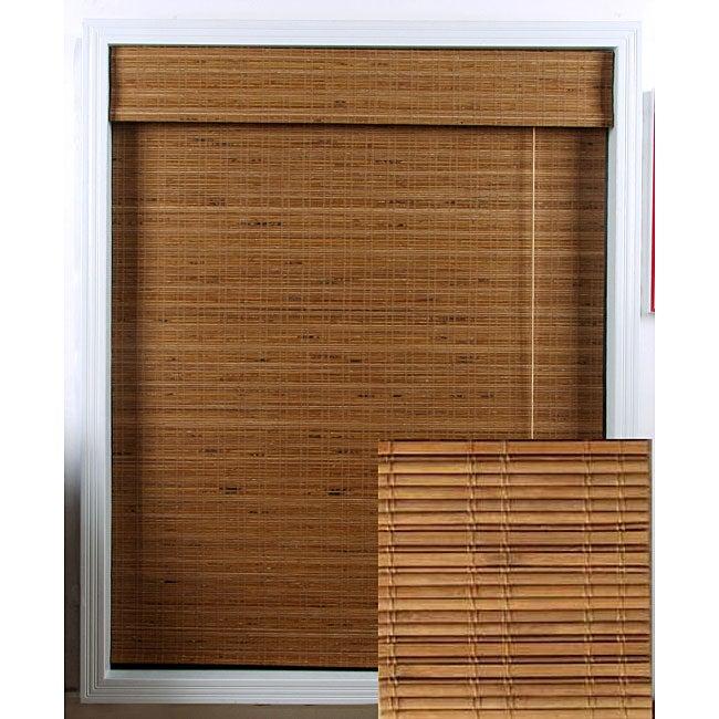 Tuscan Bamboo Roman Shade (72 in. x 74 in.)