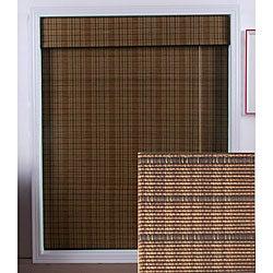 Tibetan Bamboo Roman Shade (29 in. x 74 in.)