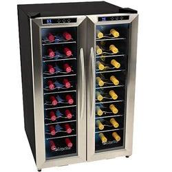 EdgeStar 32-bottle Dual-zone Wine Cooler