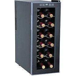 SPT Thermoelectric 12-bottle Slim Wine Cooler