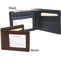 Royce Leather Bifold Wallet