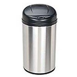 Stainless Steel 10.6-gallon Motion Sensor Trash Can