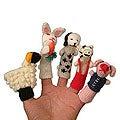 'Playful Farm Animals' Finger Puppets (Peru)