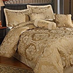 Halifax 7-piece Gold Comforter Set