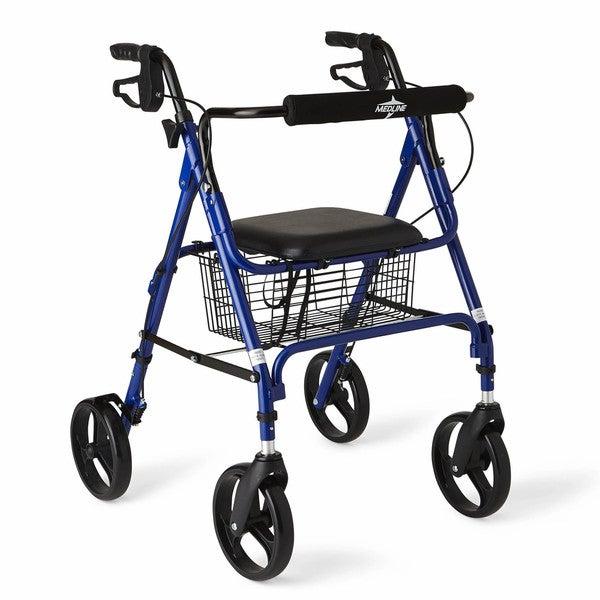 Medline Large Wheel Rollator/ Walker