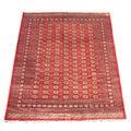 Pakistani Hand-knotted Red/ Ivory Bokhara Wool Rug (8' x 10')