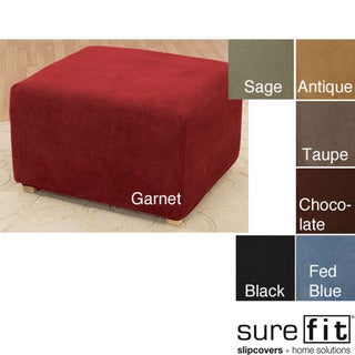 Stretch Ottoman Slipcover