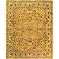 Safavieh Handmade Classic Heirloom Beige Wool Rug (7'6 x 9'6)