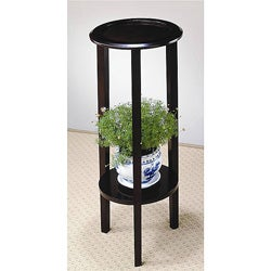 Venetian Wood Plant Stand Table