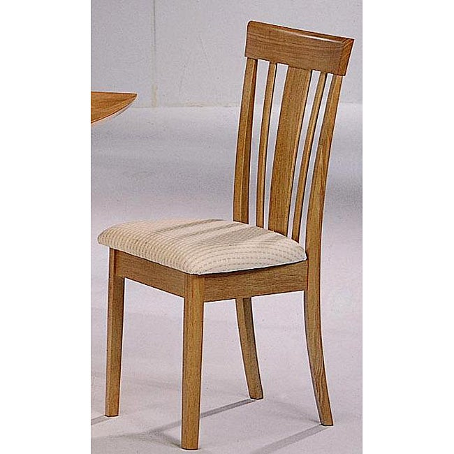 Rio Wood Dining Chairs (Set of 2)