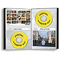 Pioneer 96-pocket Black Leather Photo and CD Album