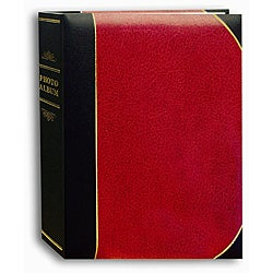 Pioneer Red Ledger Cover 5x7 Bookstyle Bi-directional Memo Albums (Pack of 2)