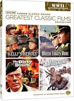 TCM Greatest Classic Films: World War II - Battlefront Europe (DVD)