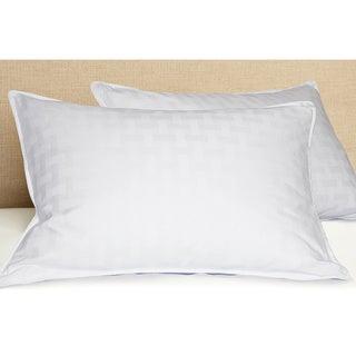 White Down 600 Thread Count Cotton Pillow