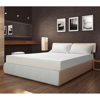 Sarah Peyton Soft Support 10-inch Full-size Memory Foam Mattress and Bonus Pillow Set