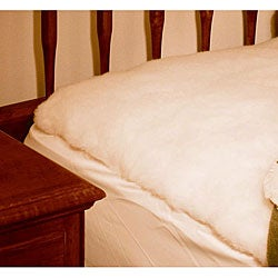Queen Lambswool Mattress Pad