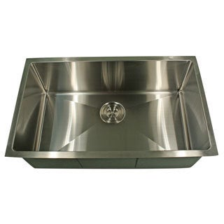 Highpoint Collection Professional Style Small Radius Rectangular Kitchen Sink