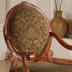 Oval-tip Midnight Arm Chair
