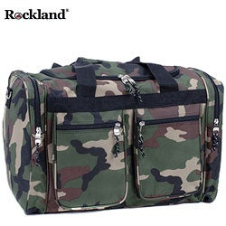 Rockland Deluxe Camoflauge 19-inch Carry-On Tote / Duffel Bag