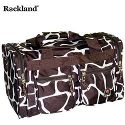 Rockland Deluxe Giraffe 19-inch Carry-On Tote / Duffel Bag